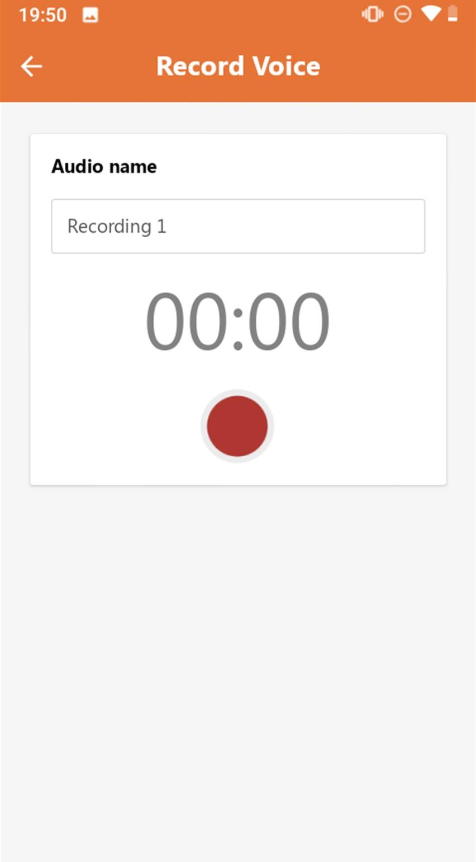 management app in werking
